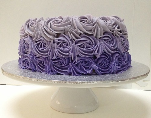 Cake - Purple Ombre