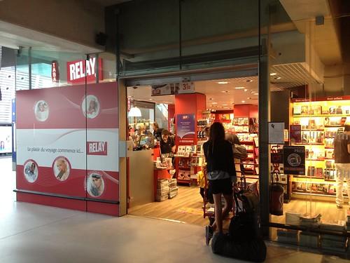 boutique Relay, gare TGV (Avignon,FR84)