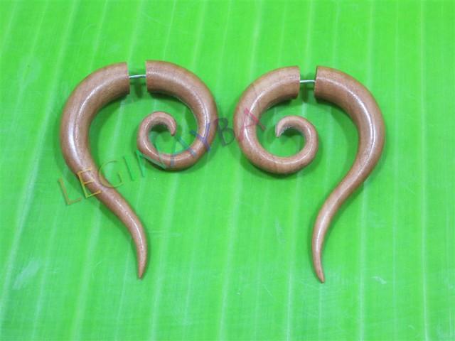 Tribal earring earrings fashion jewelry bali indonesia eco organic
