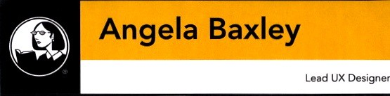 Angela Baxley, Lead UX Designer, Lynda.com Santa Barbara 2012