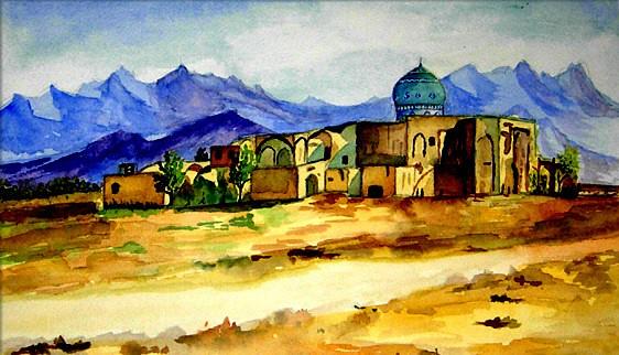 Dibujo de Persia
