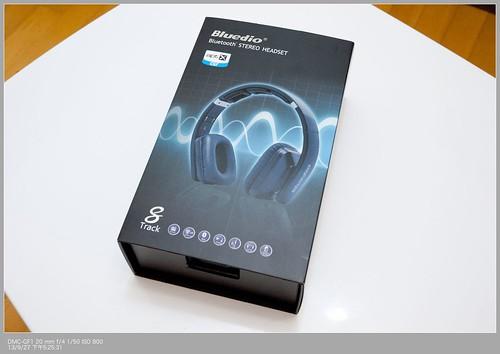 Bluedio R2 頭戴式藍芽4.0 aptX 無線/有線雙用耳機