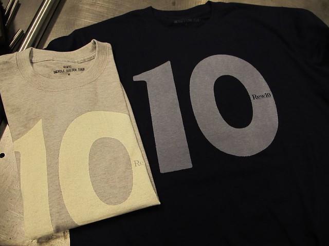 Rew10 No.10 Tshirts