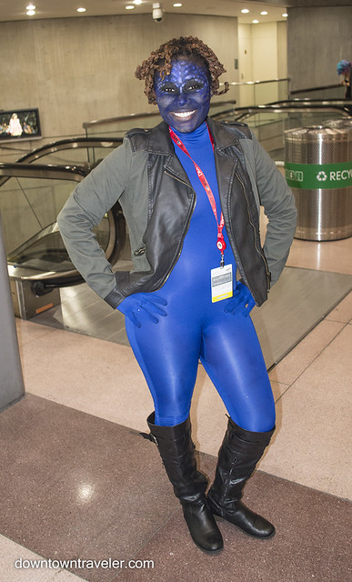 NY Comic Con Womens Costume Mystique Xmen