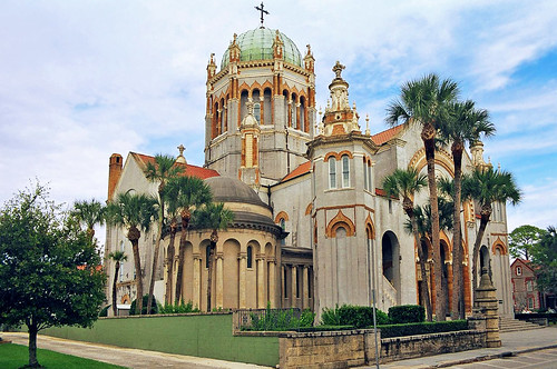 church architecture florida palmtrees cupola dome staugustine renaissancerevival