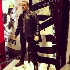 A ¼ Scale , Jean Claude Van Damme From #TheExpendables .