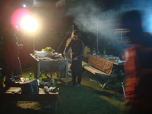 Grillen um Mitternacht