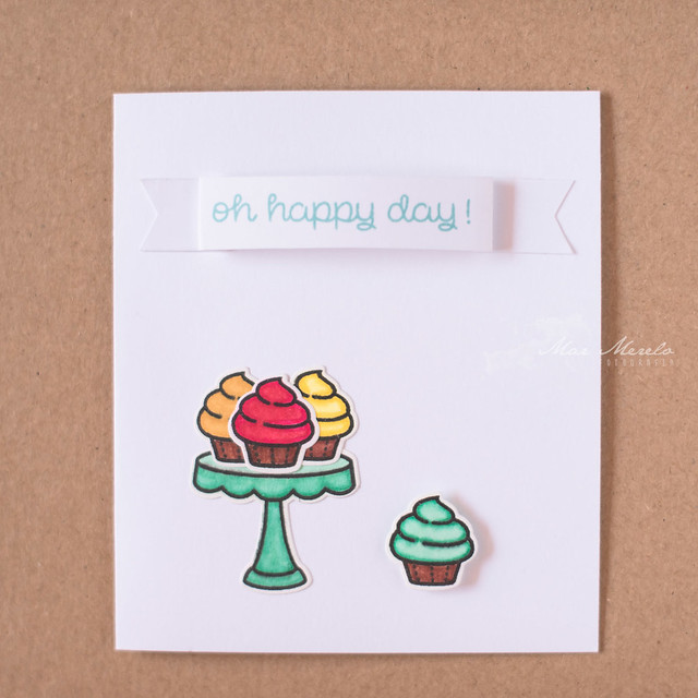 Oh happy day Card + 2
