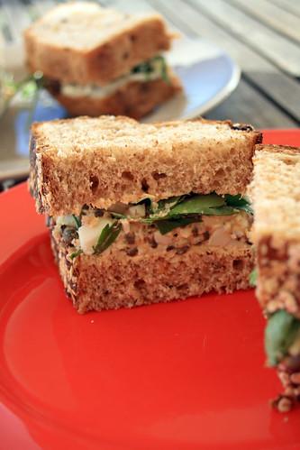 veggie sandwiches