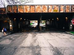 Chinatown underpass