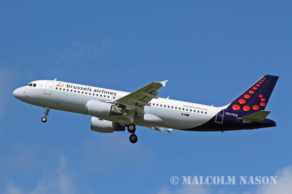 OO-TCQ - A320 - Brussels Airlines
