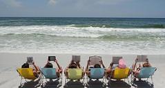 beach readin
