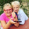 They finally caught a Pikachu!  We only had go to Holland to do so. #pokemongo #pokemon #pikachu #hollandmichigan #cousins