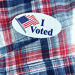 You're welcome America. I just voted to make you great again and canceled your Hillary vote Andrew Pettit. @the_great_subjugator  #freedom #earlyvoting #merica #GodGunsTrump #neverhillary #makeamericagreatagain #trump2016