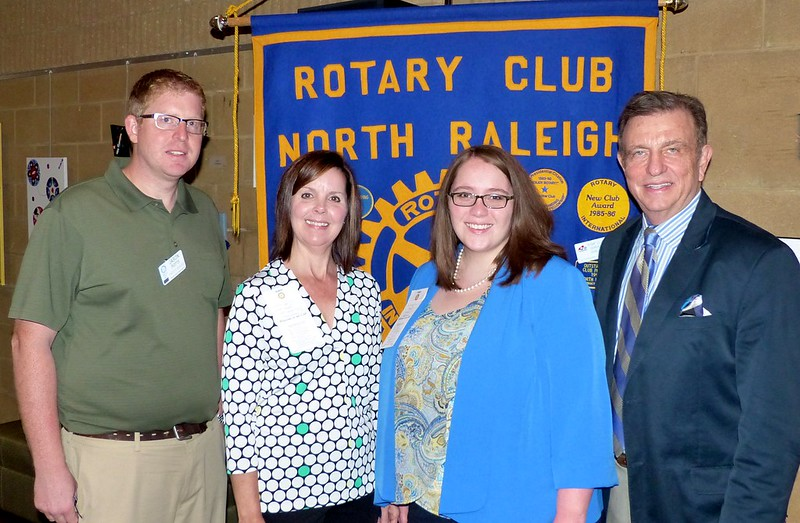 Tiffany Snider Joins the Rotary Club of North Raleigh Rotary