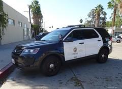 LAPD - Ford Police Interceptor Utility - (80)