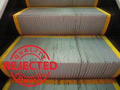The result: clean escalators