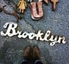Brooklyn Flea in Dumbo with the fam