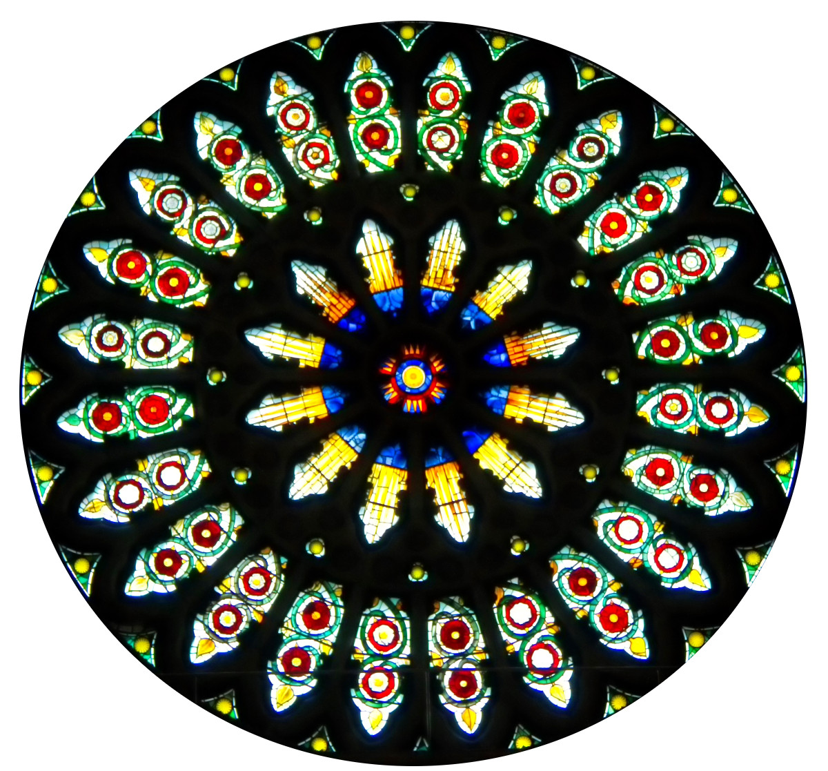 York Minster Rose Window. Credit Tony Hisgett