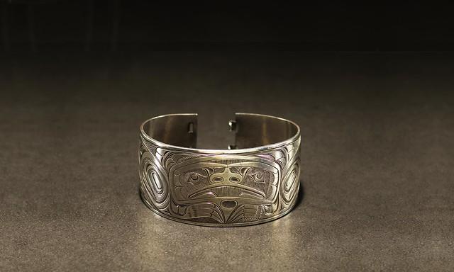 Bracelet by Charles Edenshaw (c. 1839 - 1920)