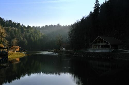 light sunset sun france water soleil nikon eau wasser suisse lumière franchecomté coucherdesoleil naturelle bassin d300 doubs sautdudoubs hautdoubs retenue lesbassinsdudoubs