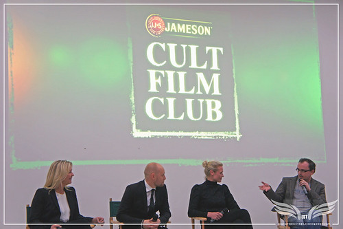 The Establishing Shot: Headhunters QA Producer Marianne Gray & Actors Aksel Hennie & Synnove Lund with host Chris Hewitt - Jameson Cult Film Club at the Saatchi Gallery by Craig Grobler
