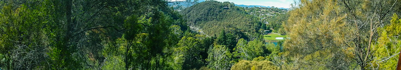 Cataract Gorge Pano