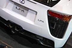 wheel(0.0), automobile(1.0), automotive exterior(1.0), vehicle(1.0), lexus lfa(1.0), performance car(1.0), automotive design(1.0), lexus(1.0), bumper(1.0), land vehicle(1.0), supercar(1.0),