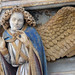 Detail of Angel: Claus Sluter, Well of Moses, 1395-1405 by profzucker