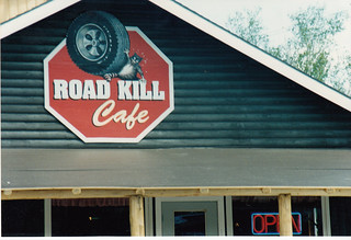 ROAD KILL CAFE MOOSEHEAD LAKE MAINE