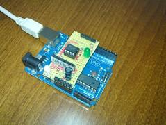 Arduino Attiny shield
