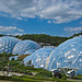 First view of the Eden Project domes as you enter.