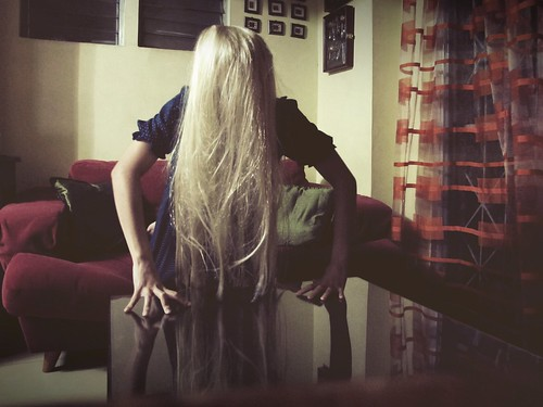 86/366: Blonde Sadako by camerakarrie