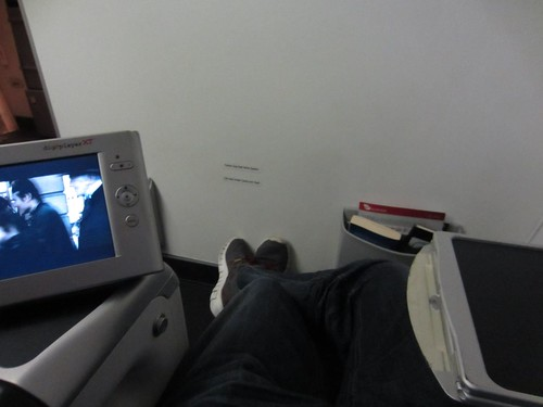 Legroom Shot from 1F