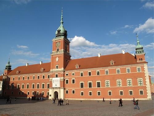 Former Royal Castle, Warsaw