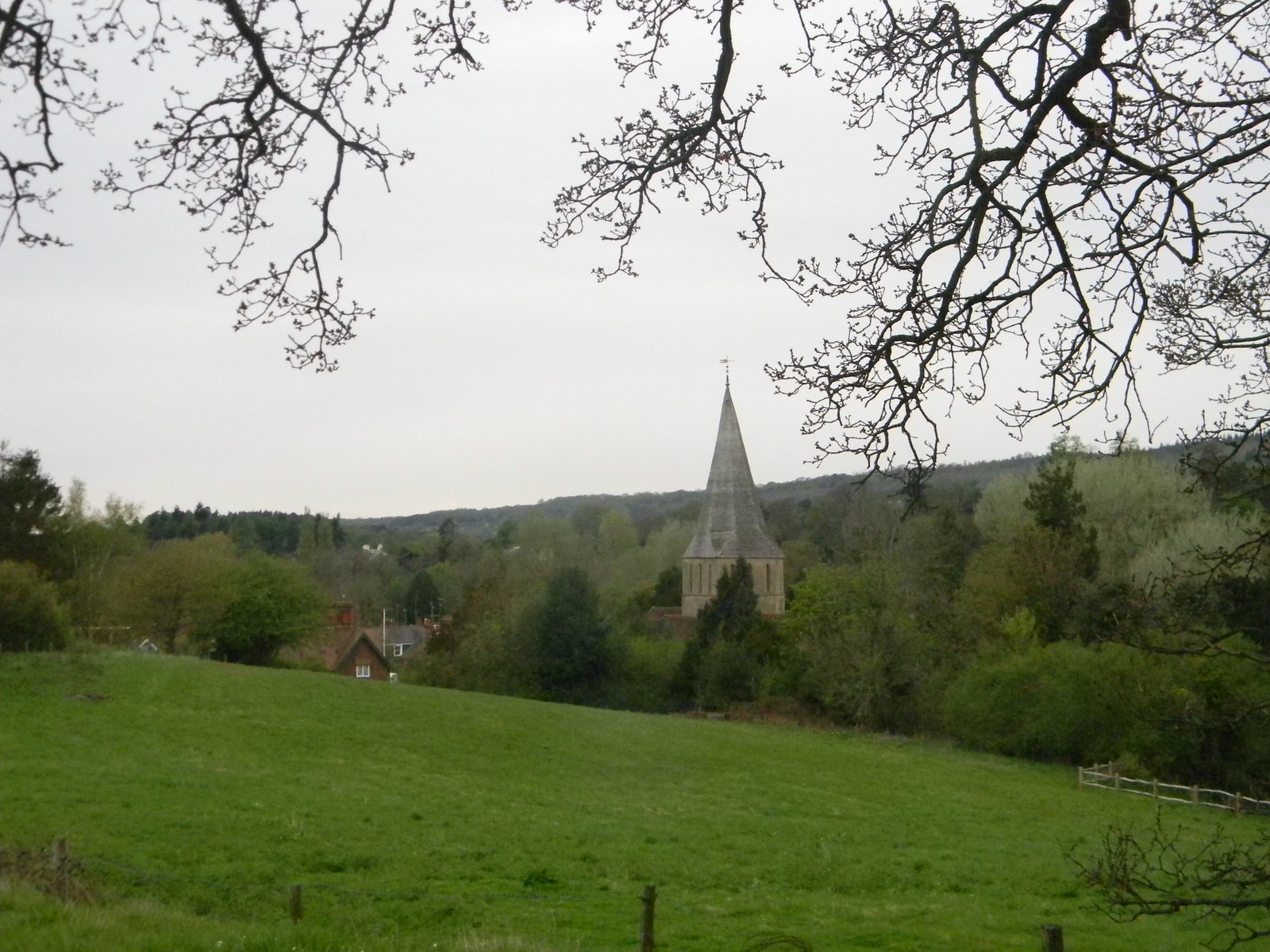 Shere church Guildford to Westhumble