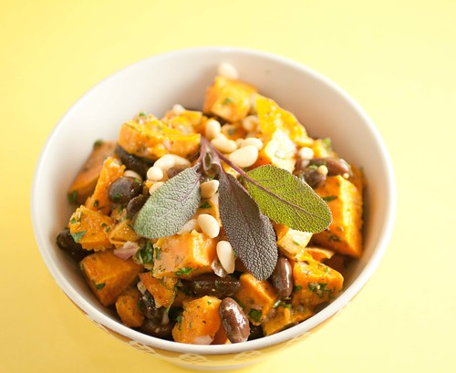 Sweet Potato and Rio Zape Bean Salad (3 of 4)