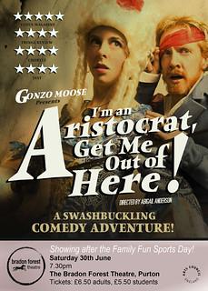 Gonzo Moose Aristocrat poster