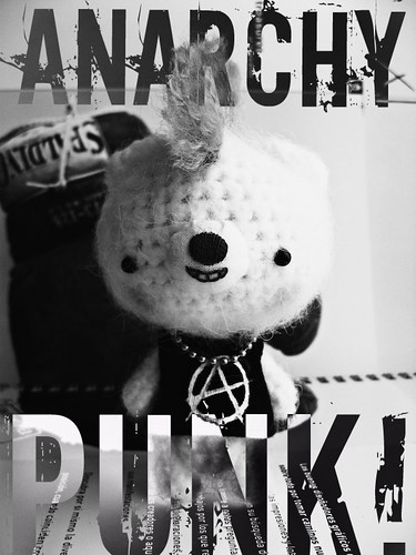 Ursy, the punk bear