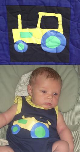 Custom Baby Memory Quilt
