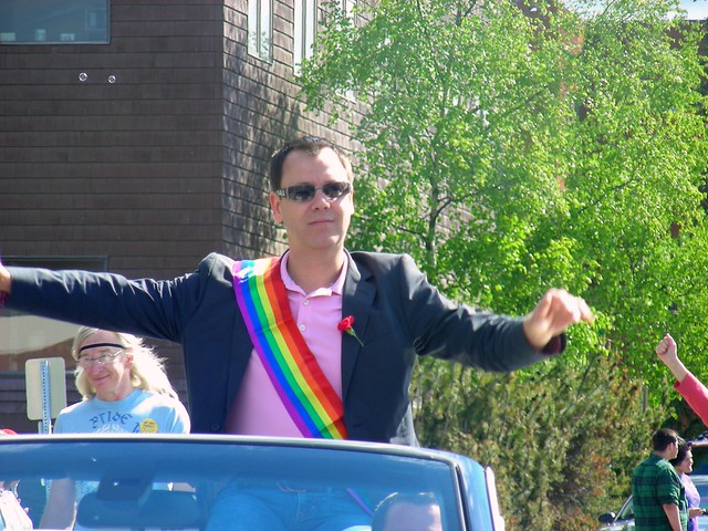 Trevor Storrs, Grand Marshal of the 2012 Celebrating Diversity Parade