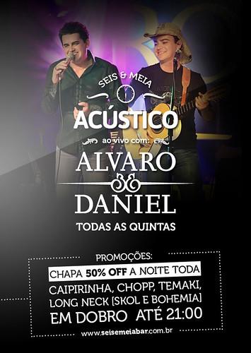 Flyer - Alvaro & Daniel Acústico by chambe.com.br