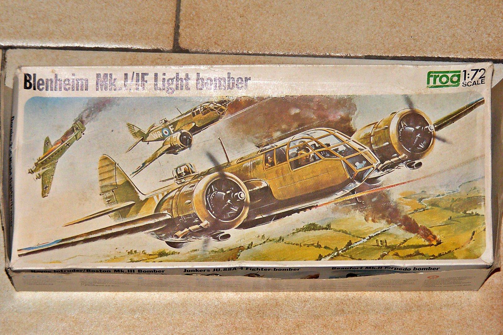 bristol blenheim Mk.I FROG 1/72