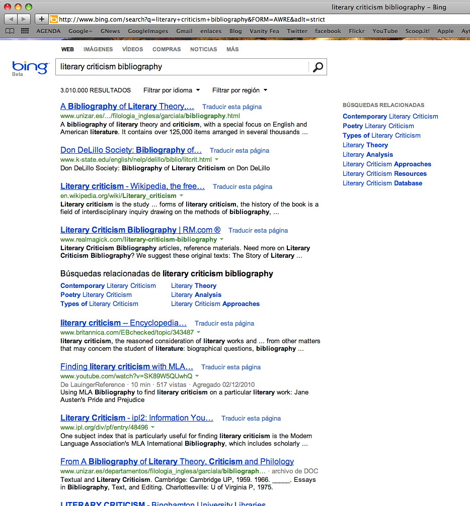Bing search biblio