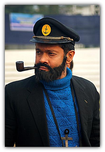 Captain Haddock!!!