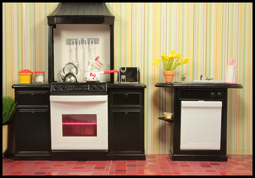 Repainted Kitchen by DollsinDystopia