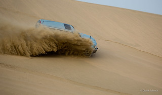 Dune Bashing in Qatar