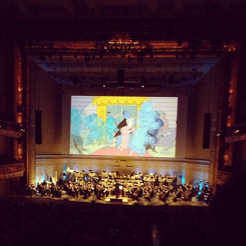 Fantasia in concert at the Boston Pops. They did Rhapsody in Blue and I cried. #latergram