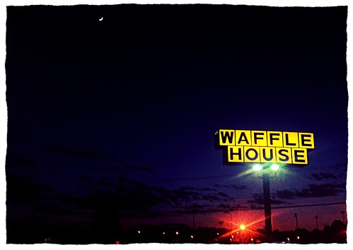 wafflehouse uploaded:by=flickrmobile flickriosapp:filter=chameleon chameleonfilter
