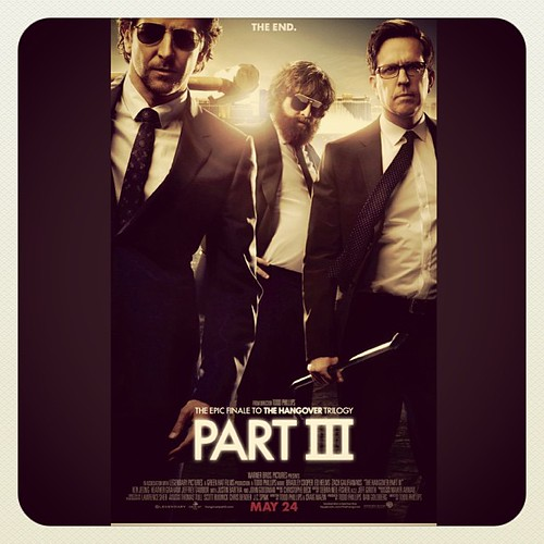 Hangover Part 3! Cant wait this is gonna be Epic. #hangover #part3 #movie #film #comedy by rabbitandrobin